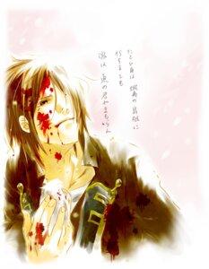 Rating: Safe Score: 3 Tags: akio_(pixiv2535432) blood hijikata_toshizou hijikata_toshizou_(hakuouki) male User: Radioactive