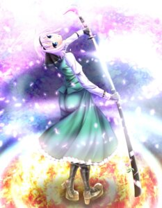 Rating: Safe Score: 14 Tags: evandragon konpaku_youmu sword touhou User: 椎名深夏