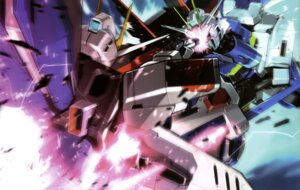 Rating: Safe Score: 12 Tags: freedom_gundam gundam gundam_seed gundam_seed_destiny impulse_gundam mecha sword weapon User: drop