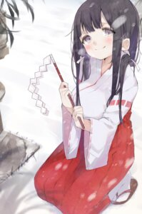 Rating: Safe Score: 31 Tags: kayahara_(artist) miko User: 麻里子