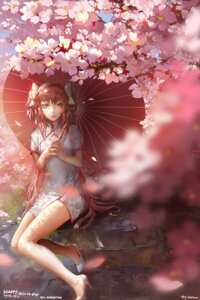 Rating: Safe Score: 50 Tags: blackrabbitsoul chinadress heels kaname_madoka puella_magi_madoka_magica umbrella User: Mr_GT