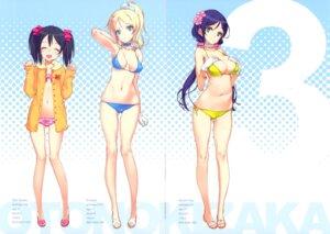 Rating: Questionable Score: 52 Tags: ayase_eli bikini cleavage crease loli love_live! oyari_ashito shoujo_kishidan swimsuits toujou_nozomi yazawa_nico User: fireattack