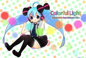 Rating: Safe Score: 6 Tags: gochi_ta hatsune_miku thighhighs vocaloid User: charunetra
