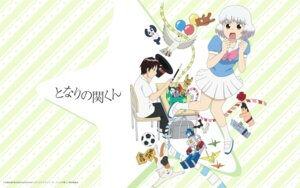Rating: Safe Score: 11 Tags: seifuku tonari_no_seki-kun toshinan_seki wallpaper yokoi_rumi User: akusiapa