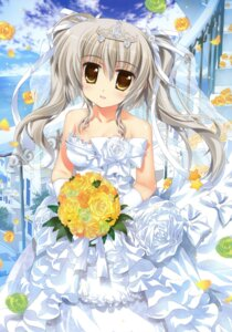 Rating: Questionable Score: 43 Tags: aquarian_age dress fujima_takuya nikaidou_yume wedding_dress User: crim