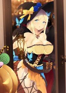 Rating: Safe Score: 71 Tags: boku_wa_tomodachi_ga_sukunai cait cleavage halloween kashiwazaki_sena witch User: Mr_GT