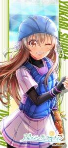 Rating: Safe Score: 6 Tags: armor baseball bike_shorts hachigatsu_no_cinderella_nine shiina_yukari_(hachinai) tagme uniform User: saemonnokami