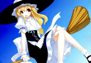 Rating: Safe Score: 12 Tags: bloomers color_issue kirisame_marisa lolita_fashion shingo touhou witch User: admin2