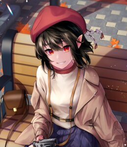 Rating: Safe Score: 16 Tags: pointy_ears shameimaru_aya touhou yaye User: Mr_GT