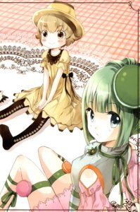 Rating: Safe Score: 8 Tags: dress fixme kaedena_akino stitchme teapot thighhighs User: Radioactive
