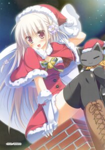 Rating: Safe Score: 57 Tags: 1/2_summer alcot_honeycomb christmas kaminogi_ushio neko sesena_yau thighhighs User: crim