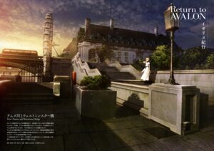 Rating: Safe Score: 48 Tags: dress fate/stay_night landscape saber takeuchi_takashi type-moon User: drop
