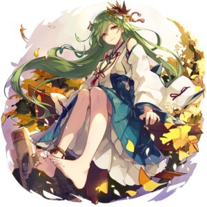 Rating: Safe Score: 76 Tags: feet japanese_clothes kochiya_sanae smas touhou User: Mr_GT