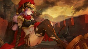 Rating: Questionable Score: 21 Tags: armor bikini_armor blood game_cg mirror_(game) tagme thighhighs thong torn_clothes User: Radioactive
