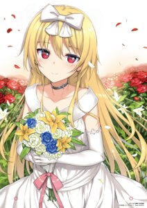 Rating: Safe Score: 103 Tags: arifureta_shokugyou_de_sekai_saikyou dress takayaki wedding_dress yue_(arifureta) User: saemonnokami
