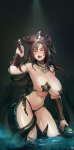 Rating: Questionable Score: 70 Tags: breasts defense_of_the_ancients erect_nipples genderswap instant-ip monster_girl pasties pirate sword tentacles thong tidehunter wet User: Mr_GT