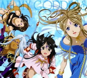 Rating: Safe Score: 15 Tags: ah_my_goddess belldandy dress overfiltered peorth skuld urd User: omegakung