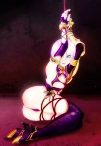 Rating: Questionable Score: 31 Tags: ass bondage funakura ivy_valentine soul_calibur thighhighs User: Nekotsúh