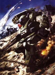 Rating: Safe Score: 8 Tags: mecha morishita_naochika votoms User: Radioactive