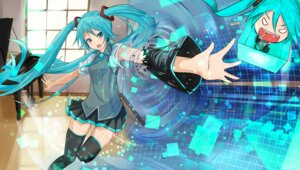 Rating: Safe Score: 32 Tags: chibi fu-ta hatsune_miku thighhighs vocaloid User: fguicvkl