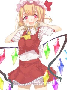 Rating: Safe Score: 33 Tags: bloomers flandre_scarlet kayahara_(artist) touhou wings User: Zenex