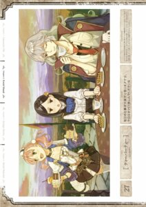 Rating: Safe Score: 5 Tags: atelier atelier_escha_&_logy digital_version escha_malier hidari jpeg_artifacts marion_quinn threia_hazelgrimm User: Shuumatsu