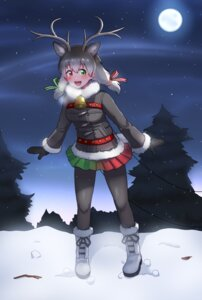 Rating: Safe Score: 8 Tags: animal_ears heterochromia horns kemono_friends lavie_(bansheestrikes) pantyhose reindeer_(kemono_friends) tail User: Mr_GT