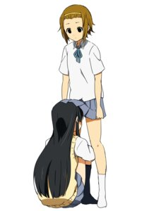 Rating: Safe Score: 21 Tags: akiyama_mio k-on! seifuku skirt_lift tagme tainaka_ritsu User: NotRadioactiveHonest