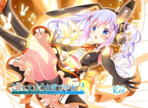 Rating: Questionable Score: 78 Tags: animal_ears bike_shorts bunny_ears gochuumon_wa_usagi_desu_ka? headphones kafuu_chino koi User: AltY