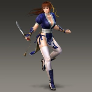 Rating: Safe Score: 25 Tags: cleavage dead_or_alive kasumi ninja ninja_gaiden no_bra nopan sword thighhighs User: Yokaiou