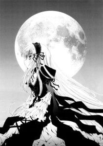 Rating: Safe Score: 10 Tags: gothic_lolita lolita_fashion monochrome rozen_maiden suigintou User: cheese