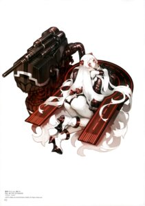 Rating: Questionable Score: 49 Tags: airfield_hime akira_(kadokawa) ass gun horns kantai_collection User: drop