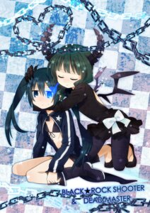 Rating: Safe Score: 28 Tags: bikini_top black_rock_shooter black_rock_shooter_(character) dead_master devil dress horns sakuro vocaloid wings User: cattypkung