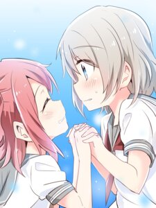 Rating: Safe Score: 1 Tags: kurosawa_ruby love_live!_sunshine!! seifuku watanabe_you yasaka_shuu User: saemonnokami
