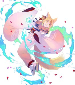 Rating: Questionable Score: 3 Tags: animal_ears enkyo_yuuichirou fire_emblem fire_emblem_heroes fire_emblem_if kimono kitsune nintendo selkie tail User: fly24