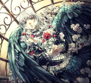 Rating: Safe Score: 20 Tags: dress minami_seira wings User: Radioactive