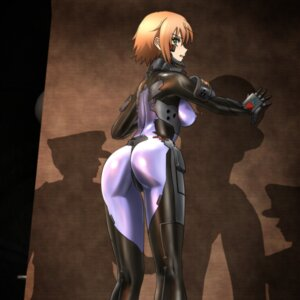Rating: Questionable Score: 38 Tags: anett_hosenfeld ass bodysuit erect_nipples genya_(genya67) muvluv muvluv_alternative schwarzesmarken User: charunetra