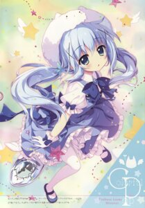 Rating: Safe Score: 70 Tags: gochuumon_wa_usagi_desu_ka? izumi_tsubasu kafuu_chino pantyhose tippy_(gochuumon_wa_usagi_desu_ka?) waitress User: DDD