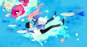 Rating: Safe Score: 11 Tags: arakawa_under_the_bridge ichinomiya_kou ky692 nino_(arakawa) seifuku User: Radioactive