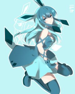 Rating: Safe Score: 58 Tags: anthropomorphization glaceon pokemon takeshima_(nia) thighhighs User: lancelot_albion