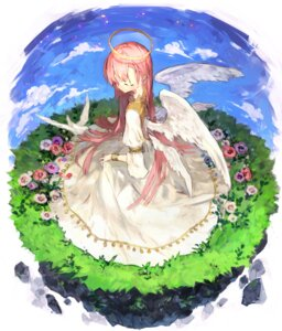 Rating: Safe Score: 22 Tags: angel dress ozyako0 wings User: charunetra