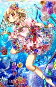 Rating: Safe Score: 35 Tags: dress feet flandre_scarlet see_through shanghai_bisu touhou wings User: charunetra