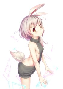 Rating: Safe Score: 41 Tags: animal_ears bilan_hangxian hei_huo_chong no_bra sweater tail User: Mr_GT