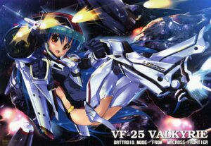 Rating: Safe Score: 8 Tags: crease klan_klein komatsu_e-ji macross macross_frontier mecha_musume vf_valkyrie User: admin2