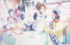 Rating: Safe Score: 52 Tags: hibike!_euphonium kasaki_nozomi maid nakagawa_natsuki nakaseko_kaori seifuku waitress yoroizuka_mizore yoshikawa_yuuko User: xiaowufeixia