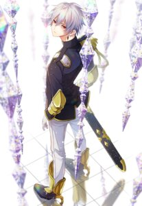Rating: Safe Score: 6 Tags: hero male sword uniform User: charunetra