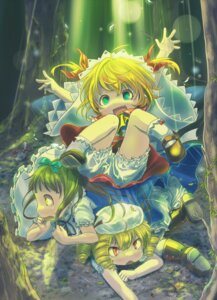 Rating: Safe Score: 11 Tags: bloomers hutaba123 luna_child star_sapphire sunny_milk touhou User: Mr_GT