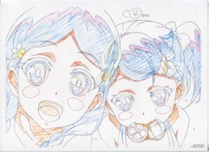 Rating: Safe Score: 8 Tags: dorothy_(garakowa) glass_no_hana_to_kowasu_sekai raw_scan remo_(garakowa) sketch User: hirotn