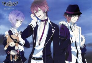 Rating: Safe Score: 9 Tags: crease diabolik_lovers jpeg_artifacts male sakamaki_ayato sakamaki_kanato sakamaki_raito User: Black_sister
