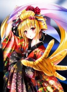 Rating: Safe Score: 40 Tags: golden_darkness kimono to_love_ru to_love_ru_darkness yabuki_kentarou User: novatox